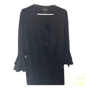 Eloquii, size 16, 3/4 ruffle sleeve jacket